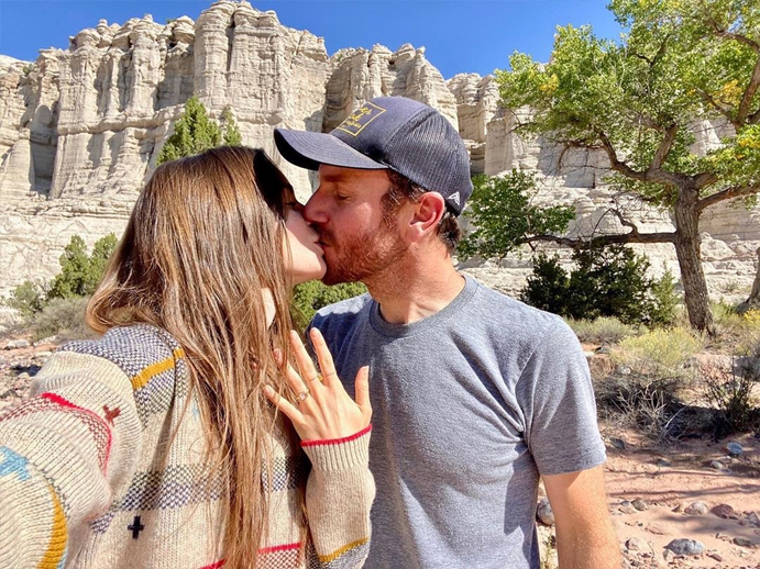 Lily Collins is Engaged - Take a Closer Look at Her Bespoke Diamond Engagement Ring