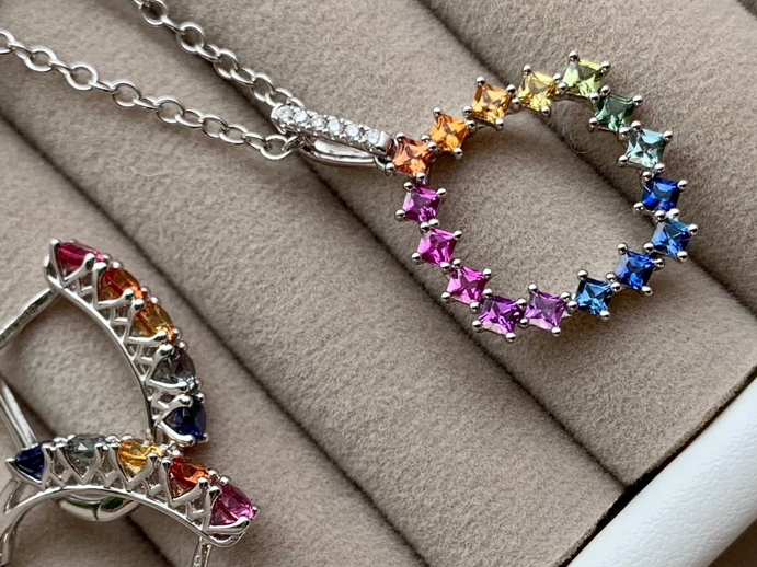 Rainbow Sapphire Fine Jewellery Collection at Wakefields