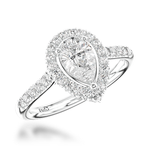 Diamond by Appointment Three Stone Diamond Engagement Ring