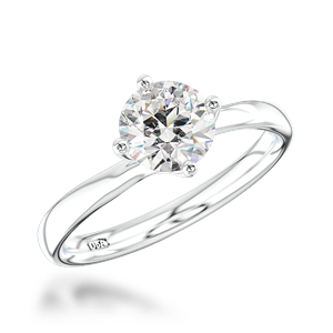 Diamond by Appointment Single Stone Diamond Engagement Ring