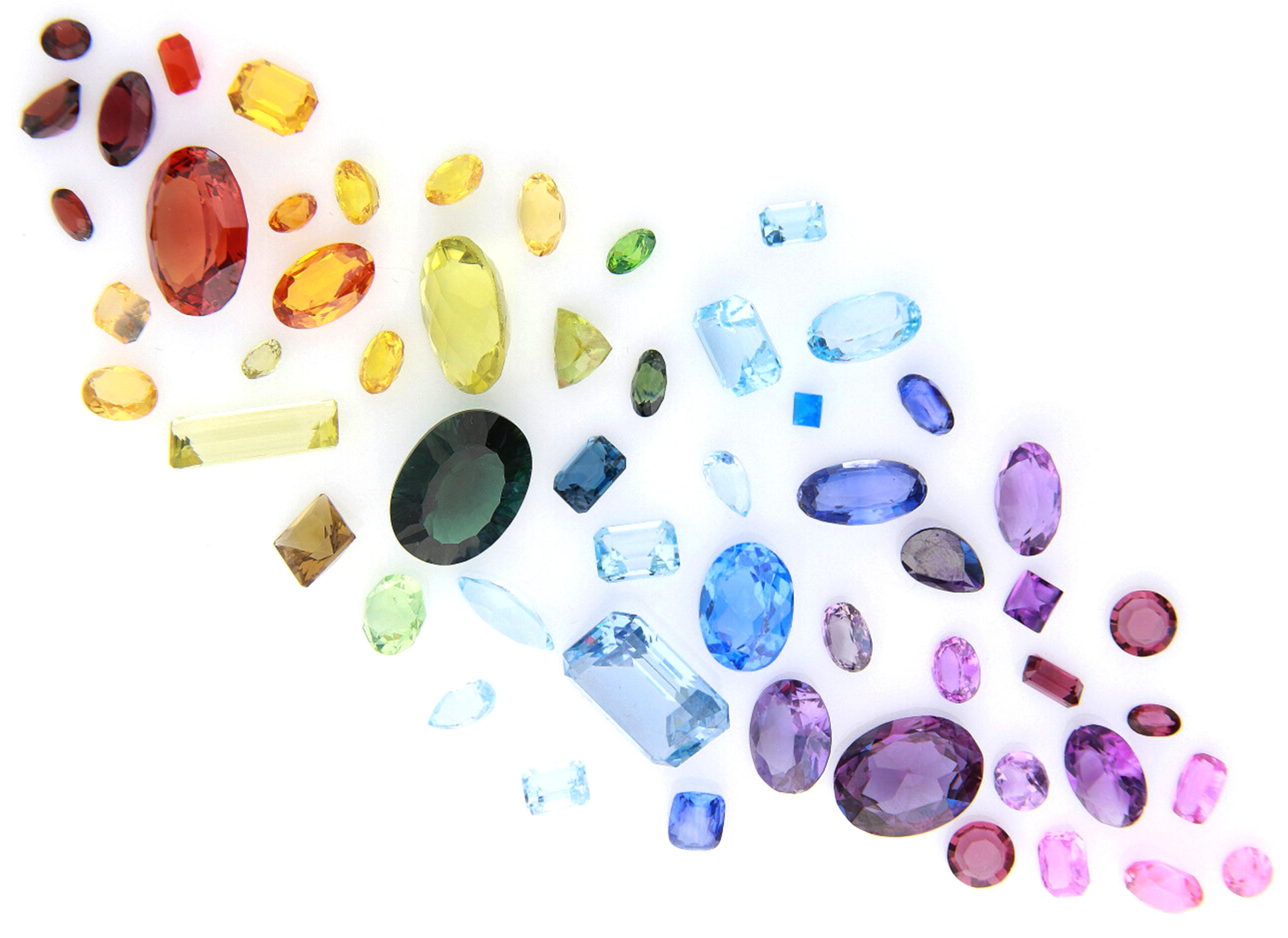 Wakefields Jewellers Loose Rainbow Gemstones